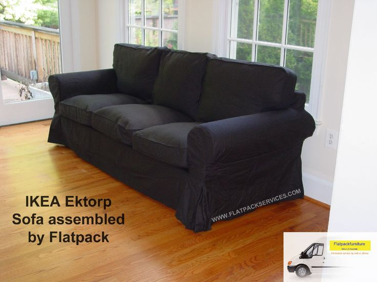 IKEA Ektorp Sofa Assembled In NW DC Flatpackservices Best Assembly