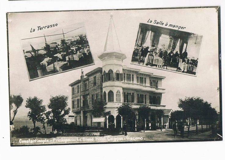 Turkey / Constantinople - Prinkipo - Grand Hotel Calypso - Terrasse & Lunchroom