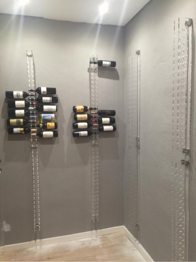 Botellero Vino Diseño Metacrilato Vintage