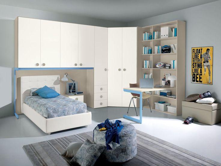 Oltre 25 fantastiche idee su armadio scrivania su - Scrivania camera da letto ...