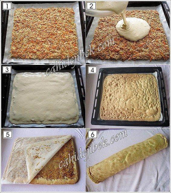 elmalı pasta yapımı