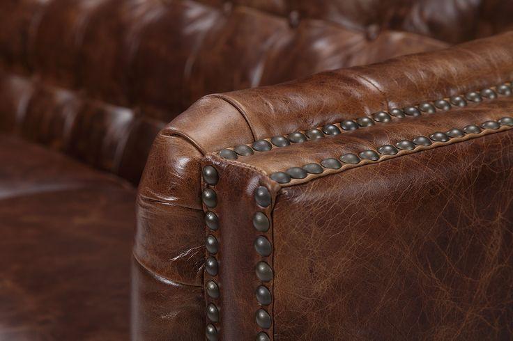 Chaise Pilote Vintage En Cuir Vintage Leather Sofa Leather Sofa Top Grain Leather