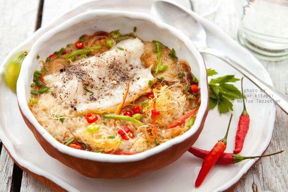 Kadayıflı balık çorbası