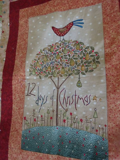 LABORES DE LILIANA: 12 Days of Christmas by Anni Downs of Hatched and ...