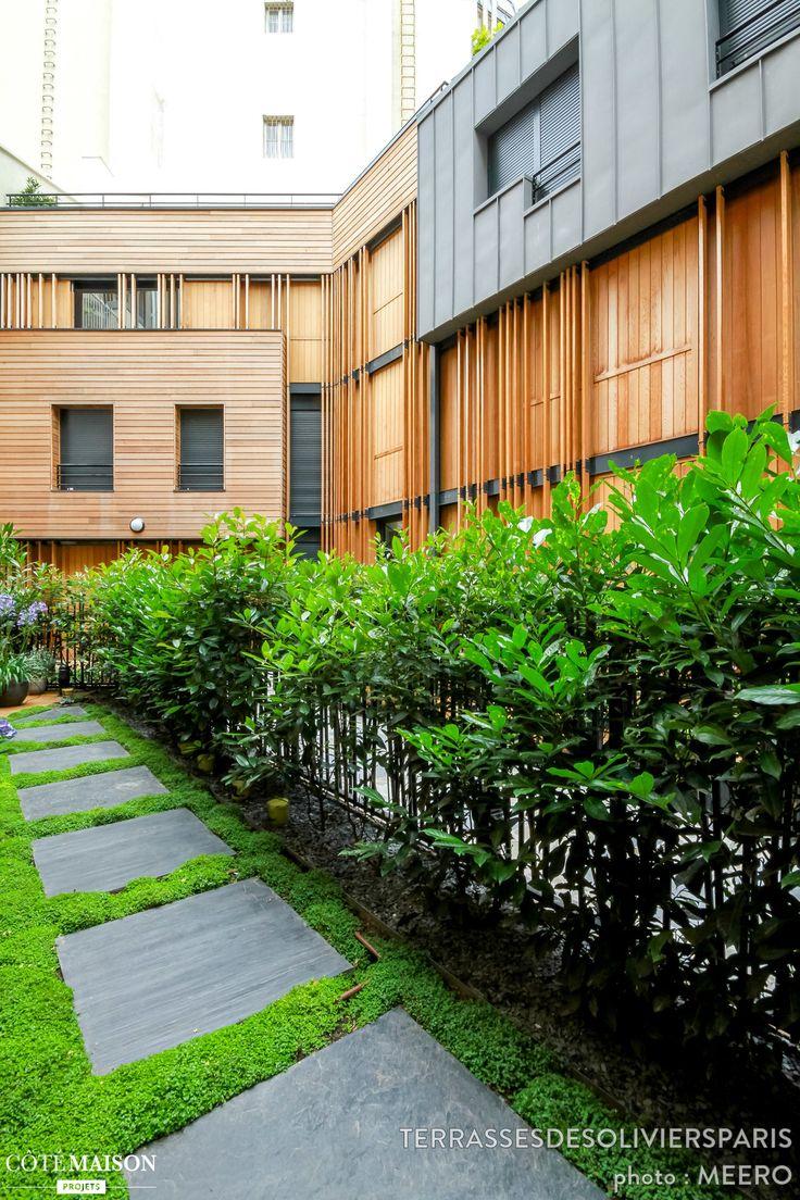 un rez de jardin ombrag un espace convivial ext rieur sans pour autant renoncer la nature. Black Bedroom Furniture Sets. Home Design Ideas
