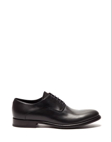 FROG LACE-UP OXFORD IN LEATHER - Shoes Man - Alberto Guardiani