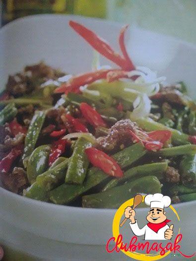 Resep Tumis Buncis Daging, Hidangan Organik Ala Resto, Club Masak