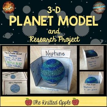 Becoming an expert on a planet and creating a planet model is always one of the highlights of the year for my students. This solar system project includes three parts: completing planet research and a planet report page, creating a 3-D planet model, and presenting the 3-D model to the class.