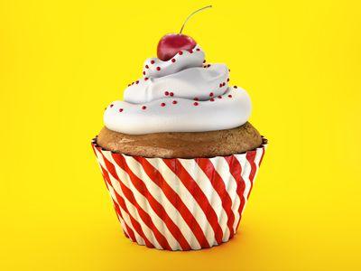 430Graphics Cupcakes, Cake A Broader, Graphics Design, Sweets Life, Food Art, Cake Illustration, Broader View, Watercolors Food, Bakeries Art