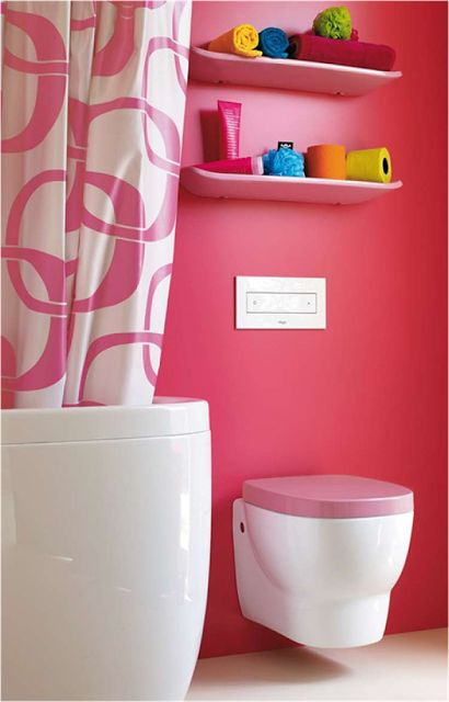 bathroom themes for teenage girls | What teen girl wouldn't love this bathroom!!