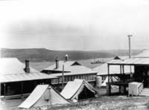 People who visit Quarantine Station in Sydney, Australia are often pushed by people who are not there.  They are even pushed to the floor  during the middle of the day. Strange noises, orbs and a lot of paranormal activity are all around this place. Contact Q Station to book - They have a great range of ghost tours to suit everyone.