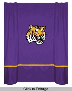 Lsu Tigers Mvp Shower Curtain Bathroom