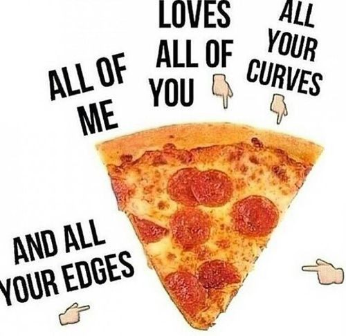 pizza, love, and all of me