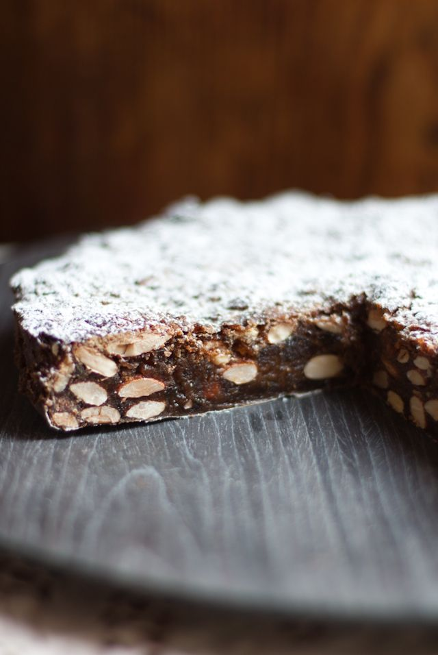 Panforte - one of my favorite Christmas treats...so scrumptious - mmmmmmm!