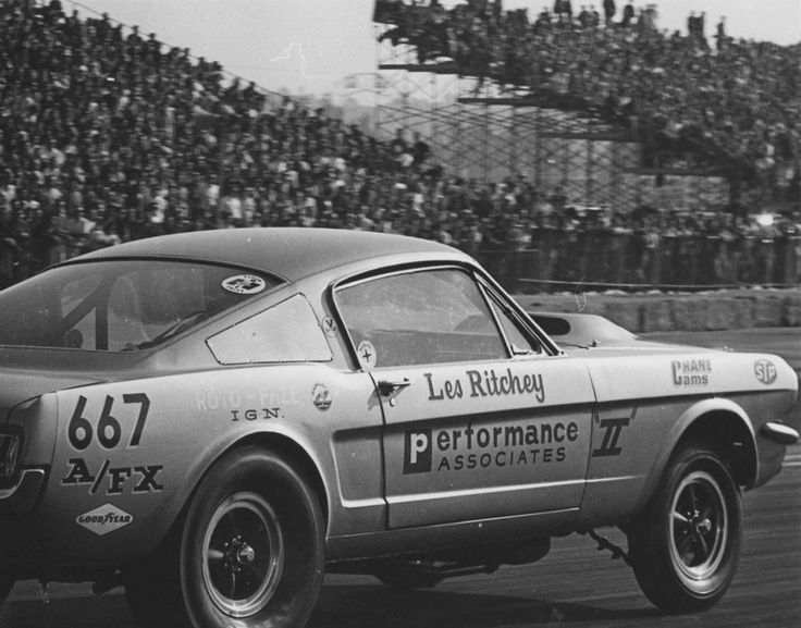 Vintage Drag Racing - A/FX - Mustang - Les Ritchey & 1686 best old drag cars images on Pinterest   Drag racing Drag ... markmcfarlin.com