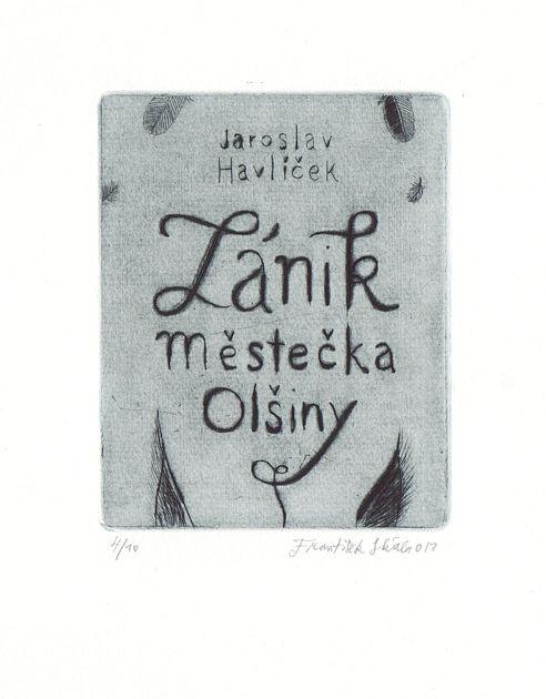 František Skála - Grafika - Zánik městečka Olšiny ::: Galerie ART Chrudim