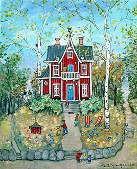 Grandmother's House by Marit Bjornegran