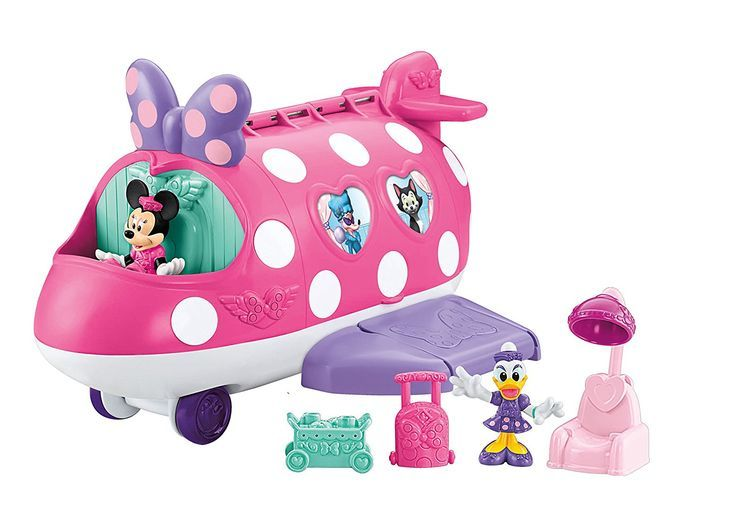 Disney toys for girls, Minnie Mouse birthday party ideas 2nd, toy airplanes for toddlers
