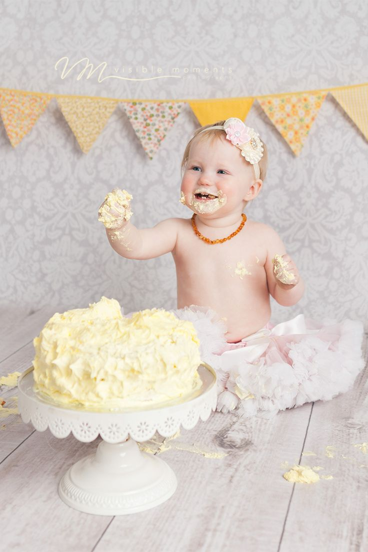 cake smash baby girl first birthday dublin photographer