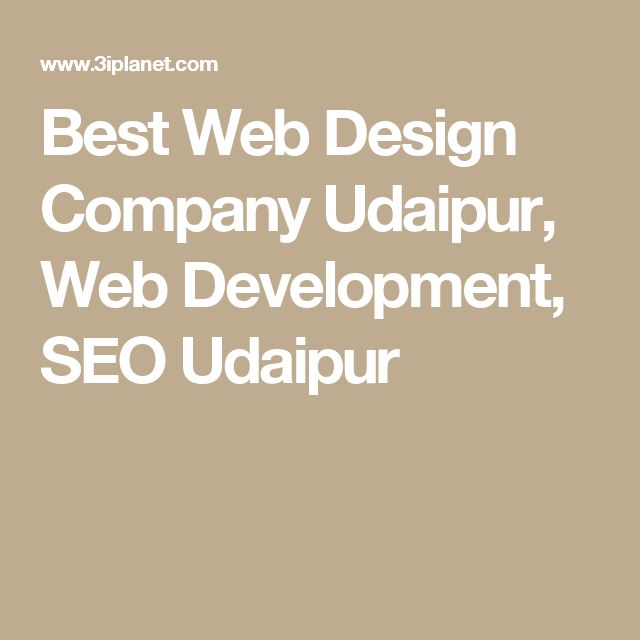 Best Web Design Company Udaipur, Web Development, SEO Udaipur
