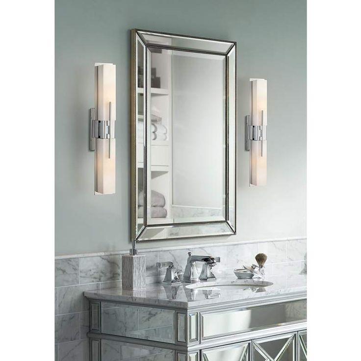 "Possini Euro Design Midtown 23 1/2"" High Chrome Bath Light ..."