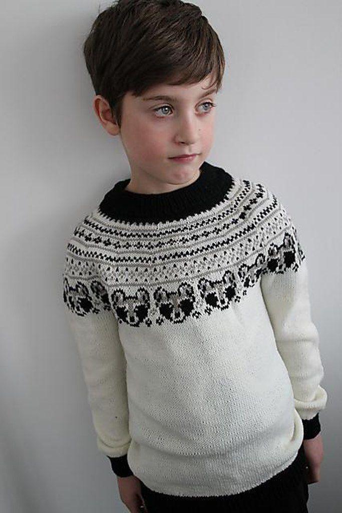 Little bandit sweater