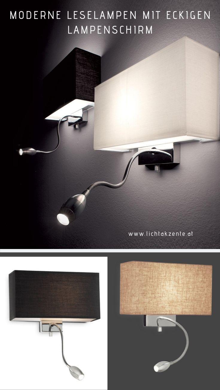 LED Design Stand Strahler Wohn Ess Zimmer Beleuchtung Stoff Steh Lampe schwarz