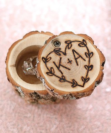 Loving this Brown Personalized Engraved Ring Holder on #zulily! #zulilyfinds