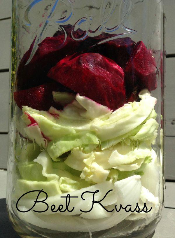 How to Make Beet Kvass that Actually Tastes Good | www.homemademommy.net #recipe #Heartburn #fermentedfoods