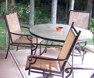 How To Remove Rust Stains From Patio Furniture