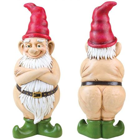 Funny Gnomes - GardenFun.com