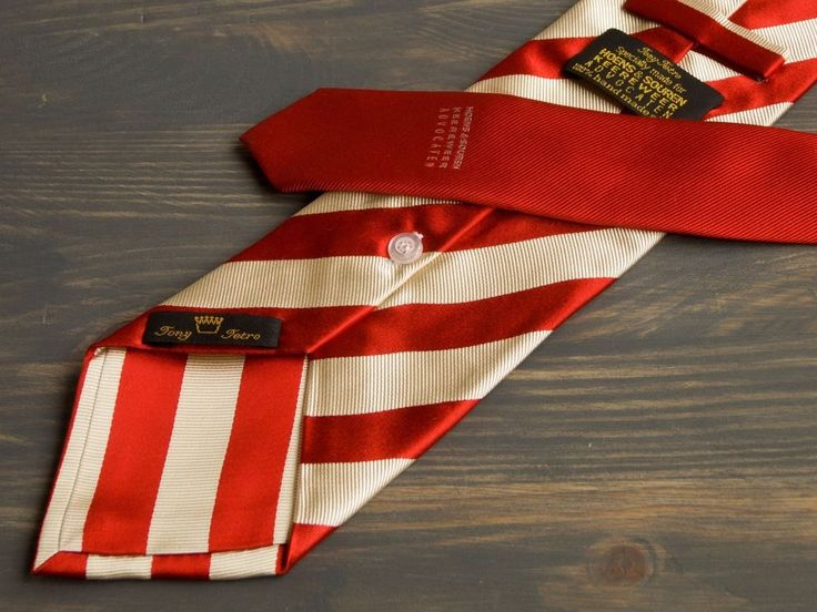 Tony Tetro Buttonhole  X-Long silk neck tie for Hoens&Souren Keereweer Advocaten $35 + free delivery #TonyTetro #Tie