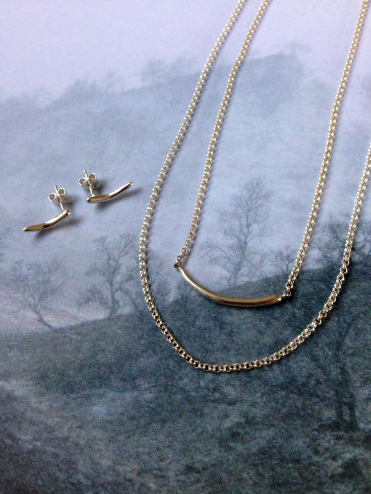 Mingsel Jewelry - earrings and necklace