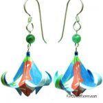 Origami Earrings 143 Best Origami Earrings Images On Pinterest Origami Jewelry Printable