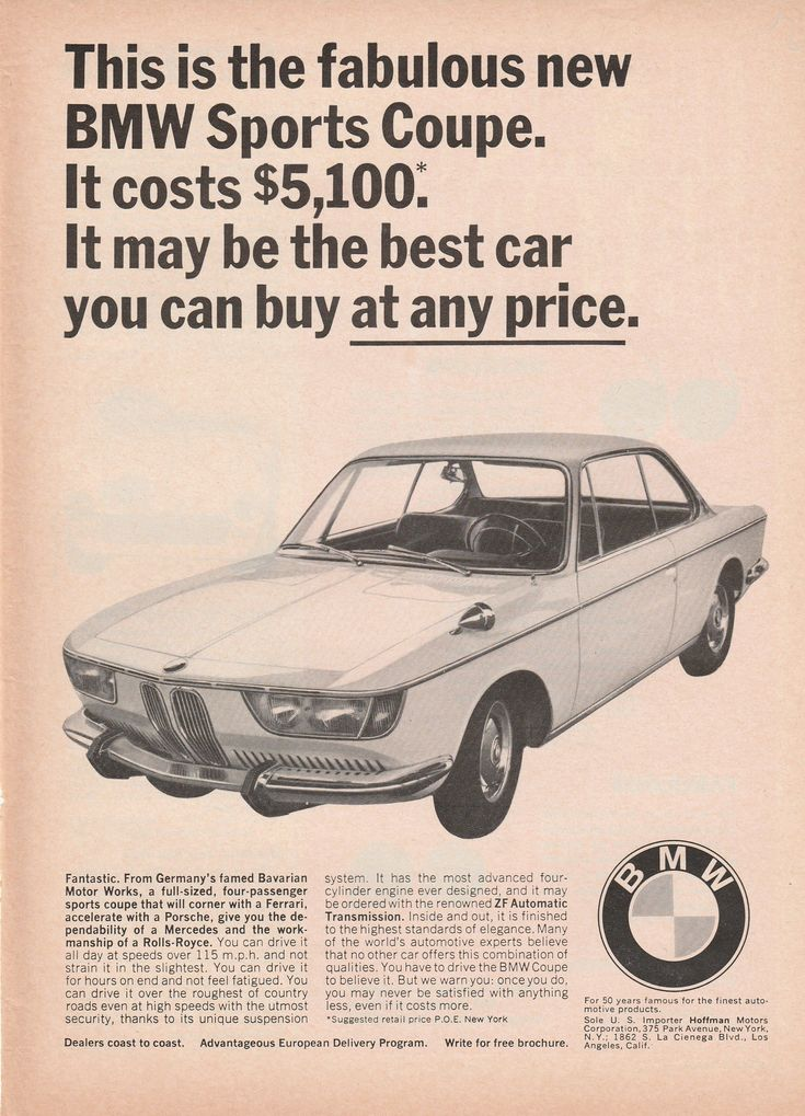 83 best bmw love images on pinterest bmw cars cars and bmw classic 1965 1969 bmw 2000 sports coupe vintage age fandeluxe Image collections