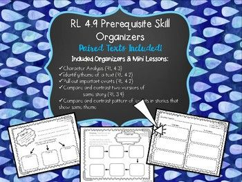 This pack includes links to download paired text for students to practice skills necessary to be successful comparing and contrasting events that lead to a similar theme.  Students will practice:*analyzing characters (RL 4.3)*identifying theme (RL 4.2) with evidence (RL 4.1)*plotting events that lead to theme (RL 4.2)*comparing two texts' events that share similar themesThis pack can be used for:-instruction in small groups-whole group instruction-special education resources