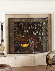 Time for a hearth-to-hearth. SHOP FIREPLACE ACCESSORIES & SCREENS