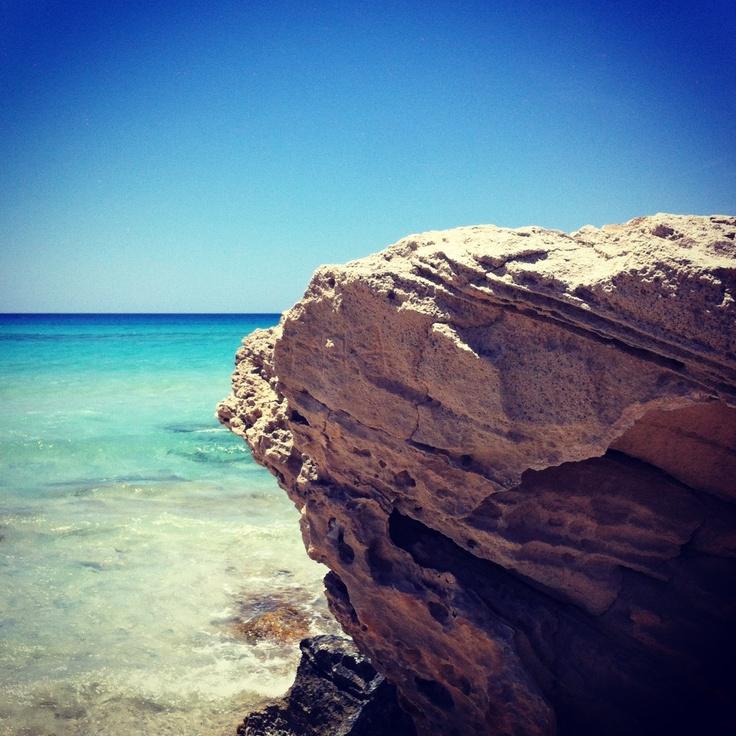 Formentera paradise beach