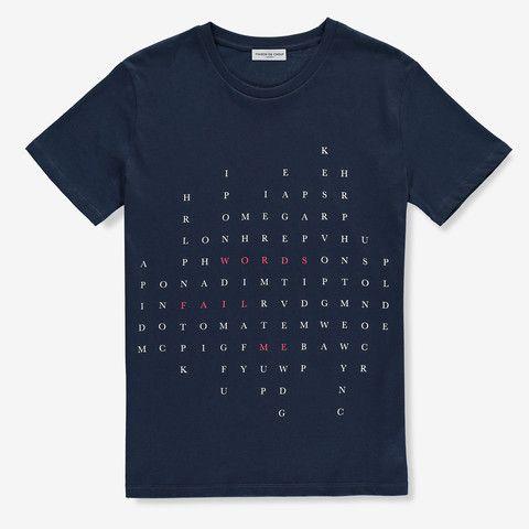 Words Fail Me Navy #MdC #Style #Fashion