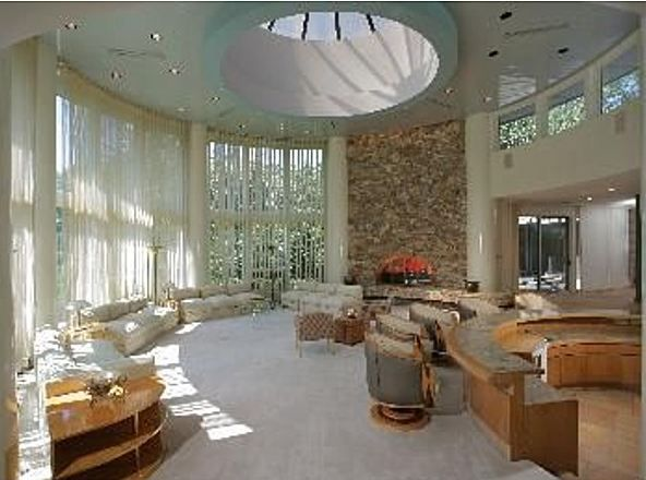 """Whitney Houston's former home """"A stunning departure from the ordinary – a sheer bravado of expansiveness and creative expression, this ranch-style contemporary home fulfills the fondest aspirations."""""""