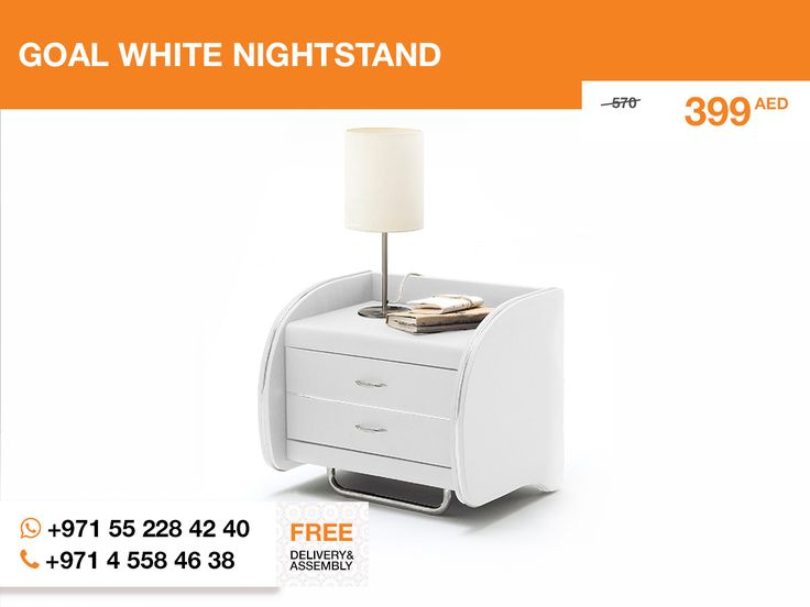 The white Goal nightstand is perceived more pleasant than the black or brown. White is such a sublime color, so the nightstand really fits the Peach Rose #queen_bed.  Try it together  and you won't be upset.   Follow the link: http://gtfshop.com/open-nightstand