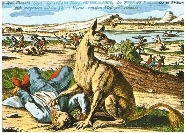 The Greatest Werewolf Art Of The Middle Ages And Renaissance . The Beast of…