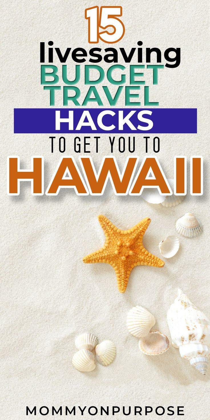 how to move to hawaii on a budget