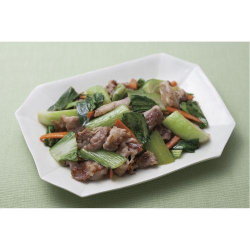 豚肉とチンゲン菜のオイスターソース炒め【ビオサポ】