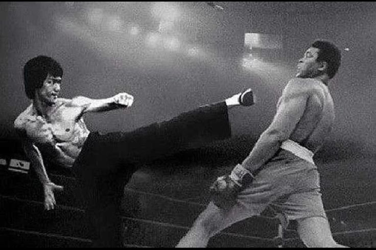 Muhammad Ali Vs Bruce Lee The best of the Best.     Originally published by Armando Sainz on Google+