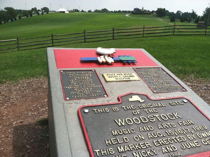 field where woodstock festival held - Google Search