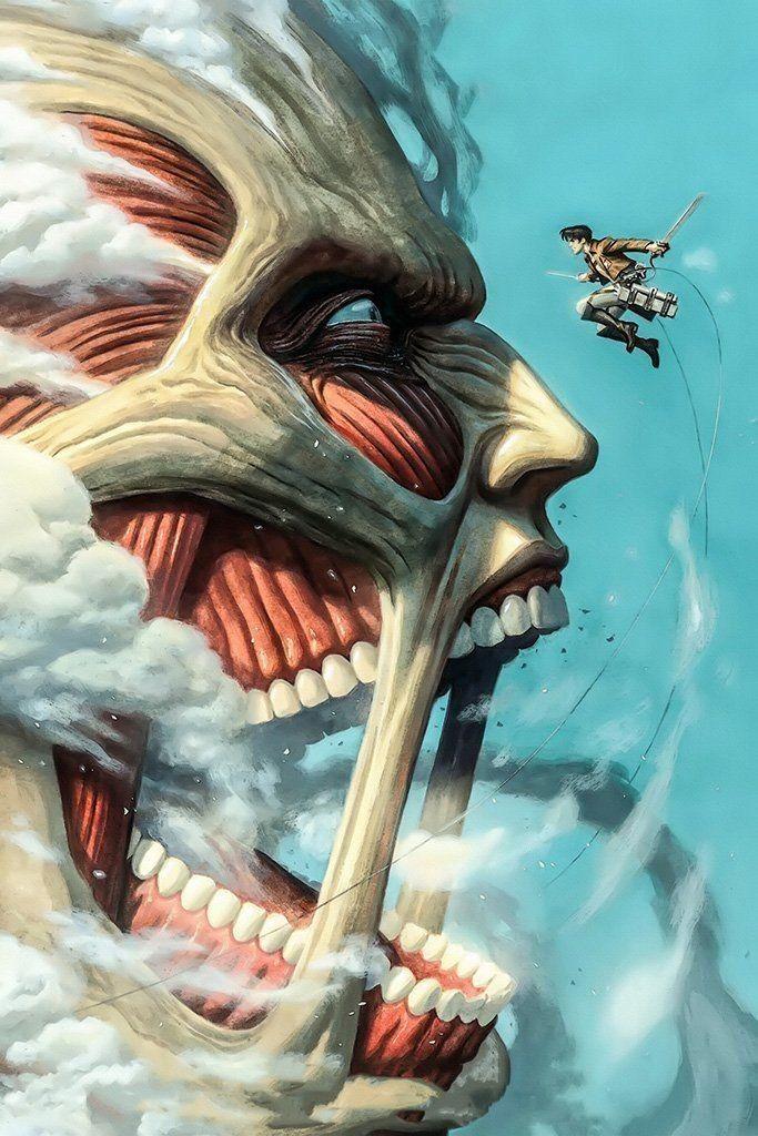 Attack on titan em 2020   Personagens de anime, Anime ...