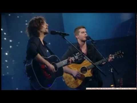 Jason Mraz et Jean-Marc Couture - I Won't Give Up - Star Académie 2012