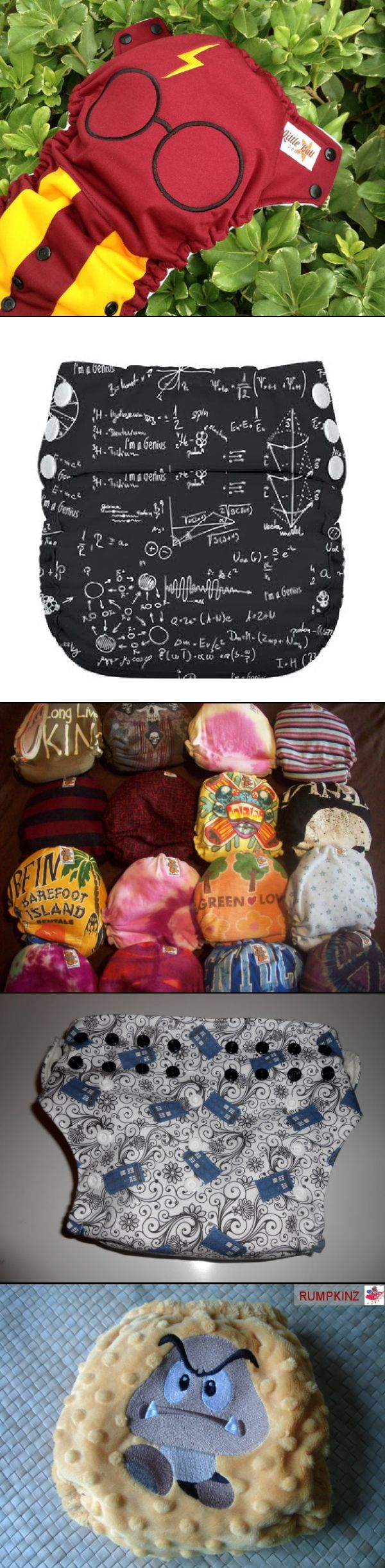 Nerdy Nappies: Not Your Mom's Cloth Diapers