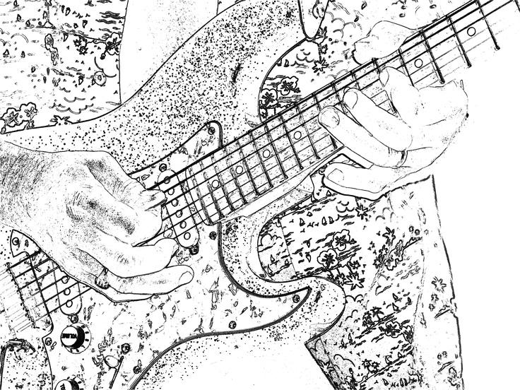Kevin Borich on guitar...2007, The Beachie, Toukley Australia